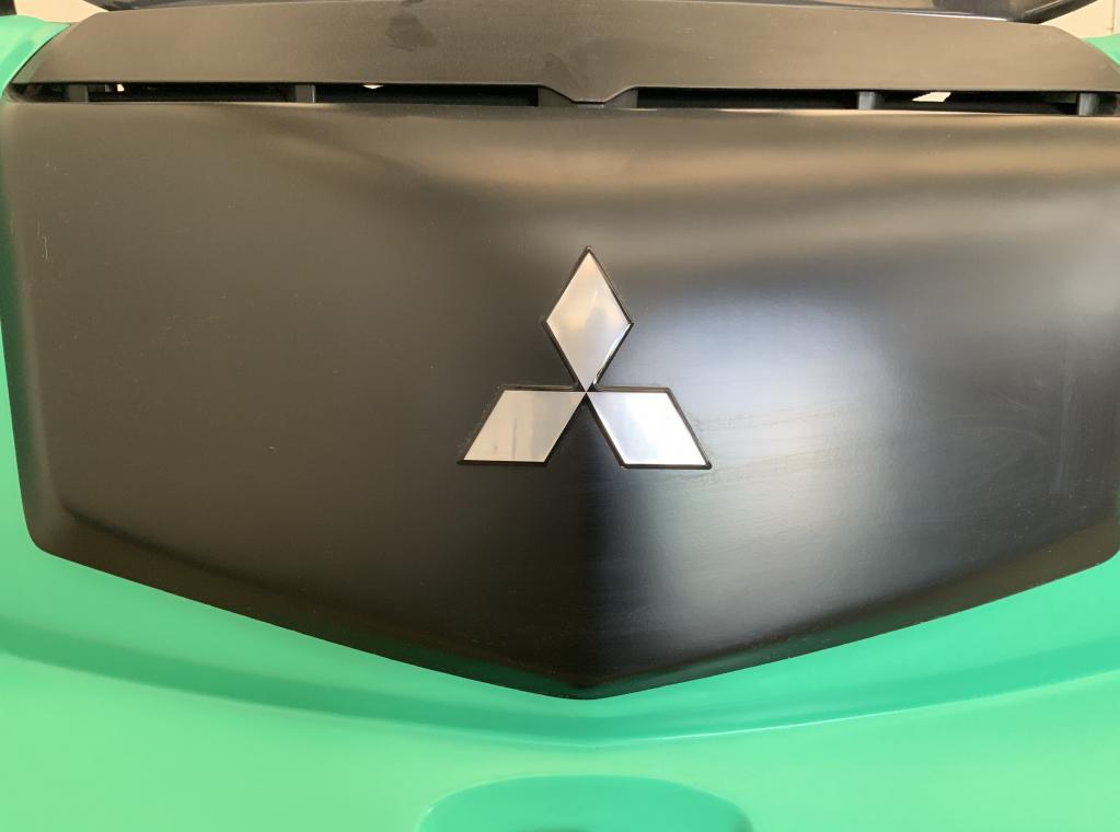Nieuwe Mitsubishi elektrische heftruck Edia35 3,5ton hefvermogen Nieuwe Heftruck te koop verkoop Forx Piet Dekoninck  Forx specialist in heftrucks  Forx    Mitsubishi.                      Dumarent cebeko devako