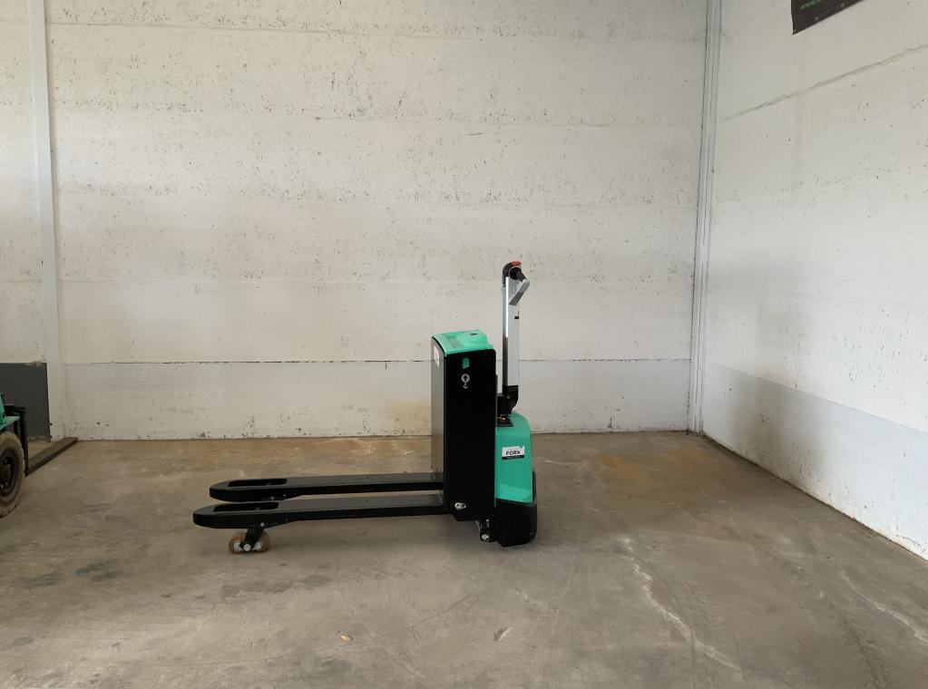 Nieuwe elektrische transpalet Mitsubishi PBP16N2 48V batterij te koop verkoop stapelaar transpallet heftruck verkoop nieuw nieuw FORX VERKOOP VERHUUR heftrucks stapelaar transpalet Forx Piet Dekoninck  Forx.               Devako Dumarent Cebeko