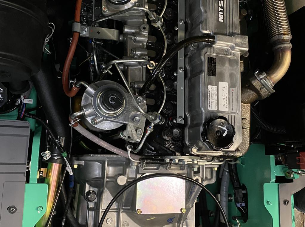 nieuwe Mitsubishi 2 Ton heftruck met degelijke en sterke S4S motor triplexmast 4750 mm 2000 kg hefvermogen te koop nieuw tweedehands te koop Verkoop verhuur te huur FORX VERHUUR FORK VERKOOP TE KOOP HEFTRUCKS NIEUW OCCASIE CLARK Piet Dekoninck FORX      devako 4rent cebeko dumarent
